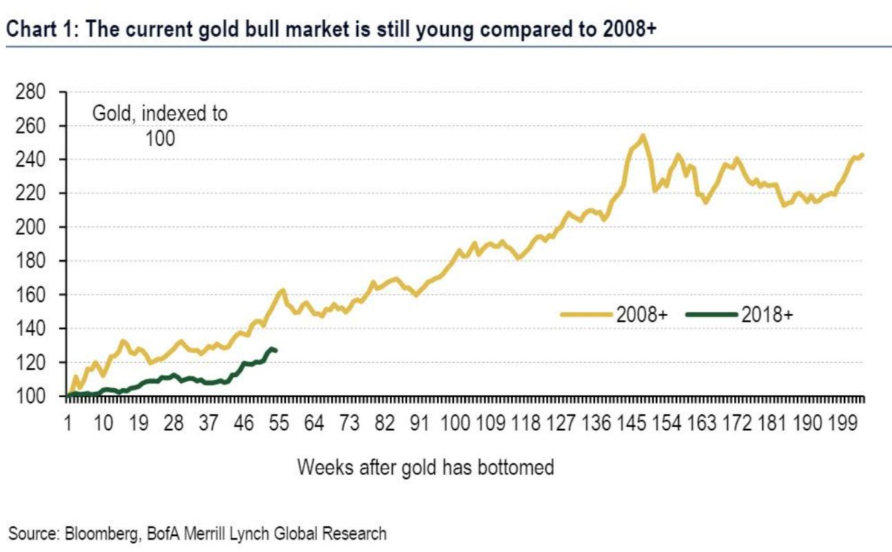 """J.P. Morgan, Bank of America to Clients: """"Buy Gold"""""""