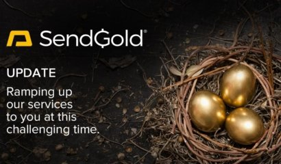 SendGold Update – Ramping up Services as Gold Demand Skyrockets