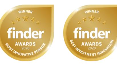 SendGold wins best Investment Innovation at the Finder Innovation Awards 2020