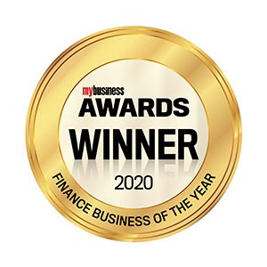 my business Awards Winner 2020 - Finance Business of the year