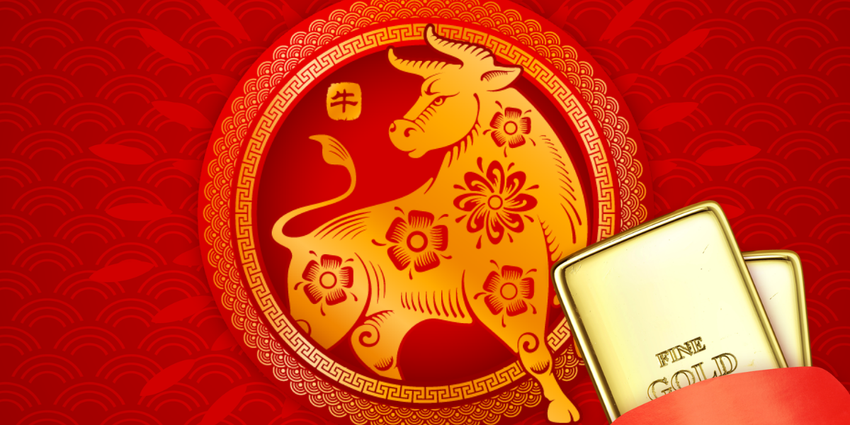 The year of the metal Ox, the year of gold!