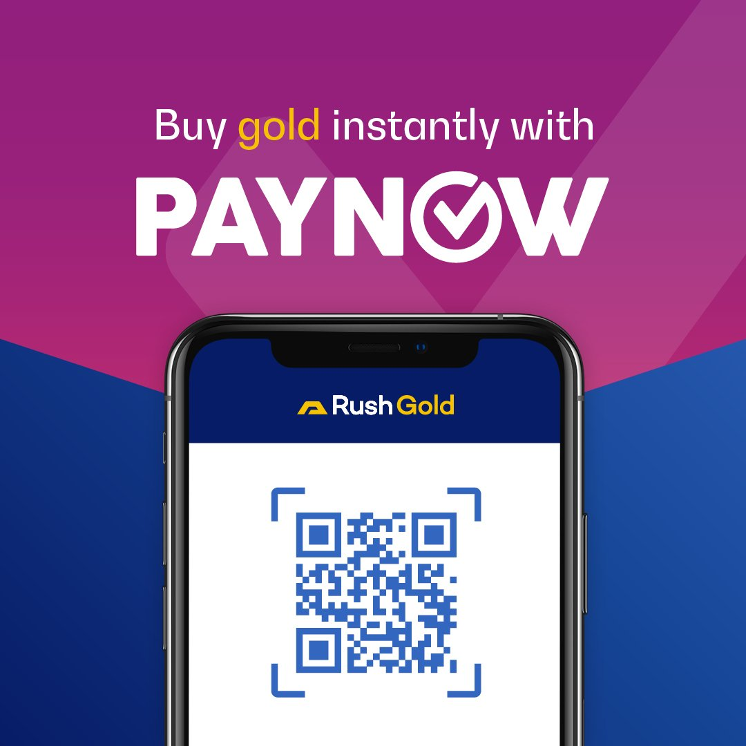 Rush to buy gold with PayNow in Singapore